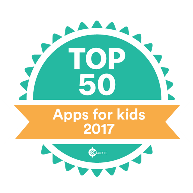 Top 50 Apps for Kids - 2017