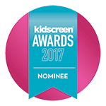 Kidscreen Awards 2017 Nominee